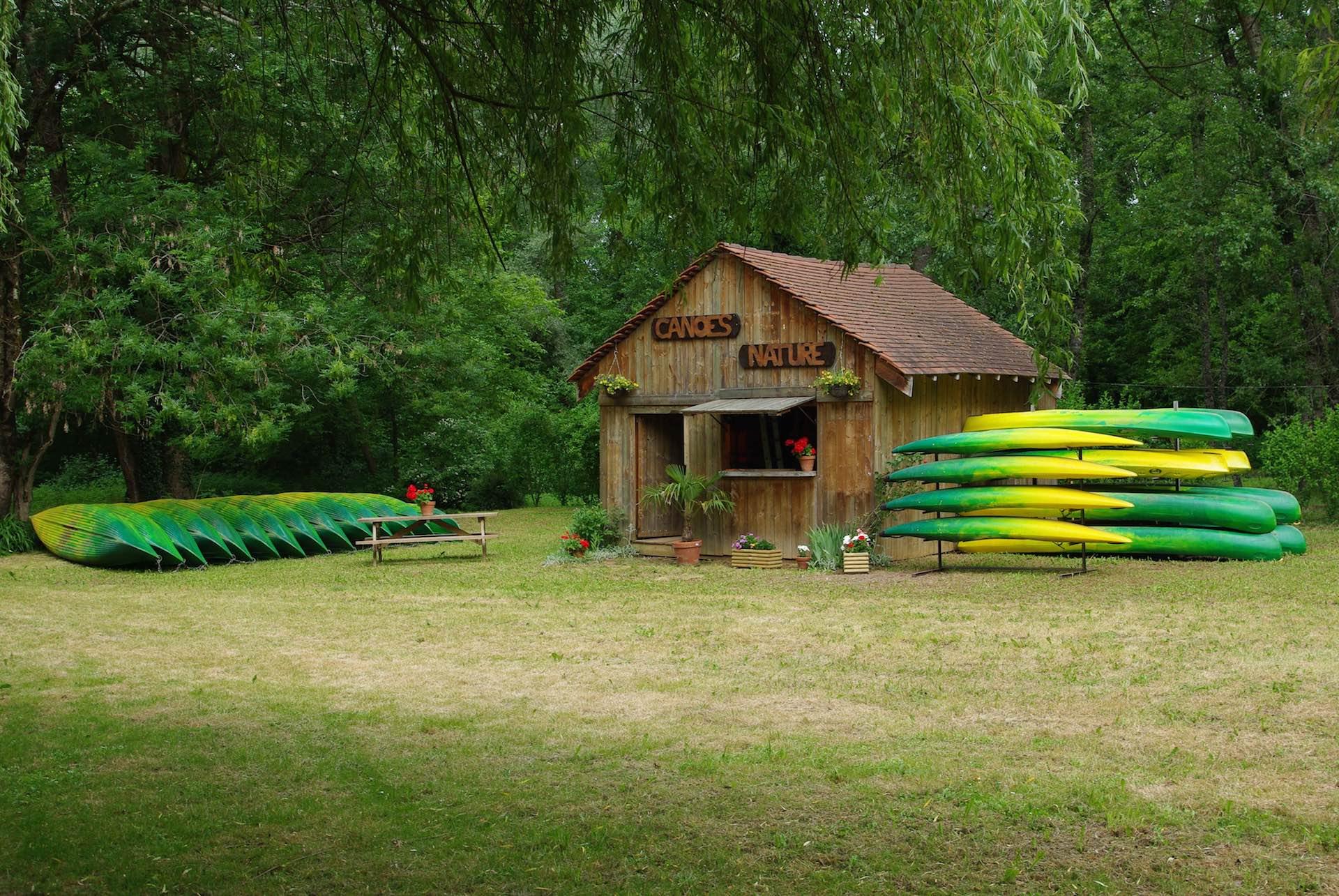 Base Canoes Nature Veyrignac
